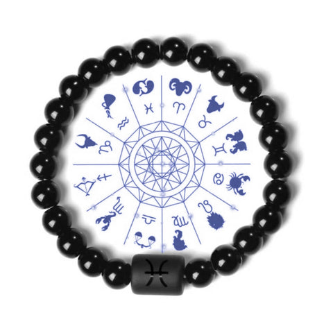 Horoscope Star Sign Zodiac Bracelets - AnnaJewelBox