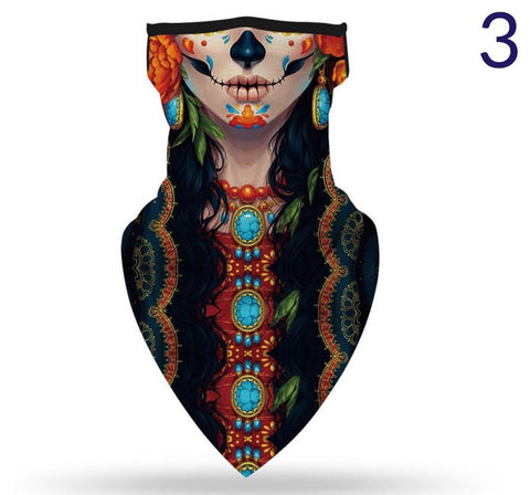 Neck Scarf Breathable Face Covering - AnnaJewelBox