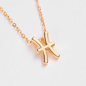 Zodiac Horoscope Star Sign Necklace - AnnaJewelBox