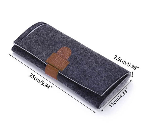 Elegant Foldable Travel Jewellery Accessory Organiser Roll Pouch - AnnaJewelBox