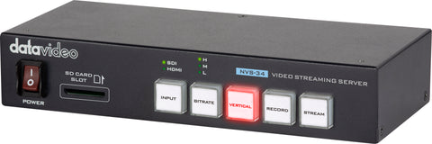 NVS-34 H.264 Dual Streaming Encoder / Recorder