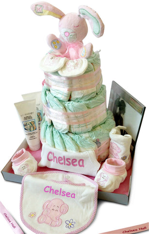 Personalised  Nappy Cakes Gifts