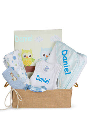 Personalised  Baby Baskets Gifts