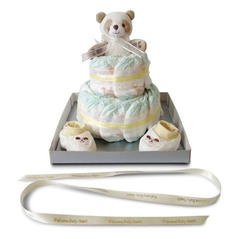 Wishing you Well! Baby Shower Classic Nappy Cake