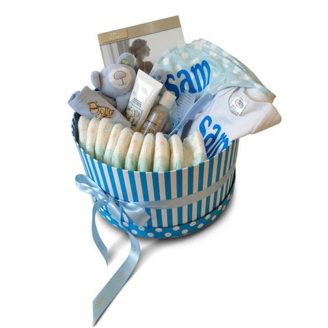 Bathtime Boy Baby Basket