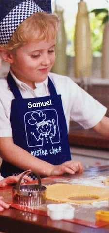 Personalised Little Chef Apron & Chef Hat Gift Set