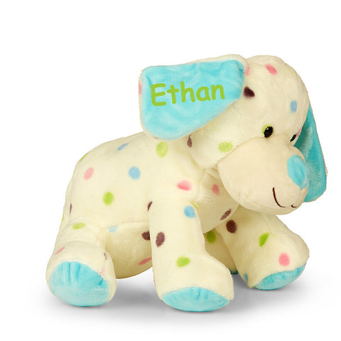 Personalised Spotty Boy Dog