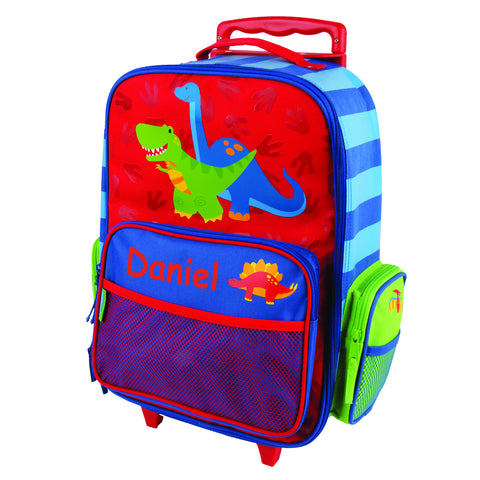 Dino the Dinosaur Personalised Rolling Luggage