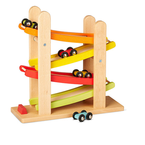 Wooden Car Ramp Racer