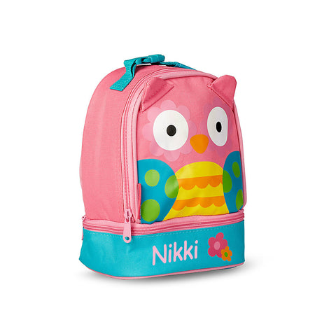 New Wise Owl Personalised Lunchbox