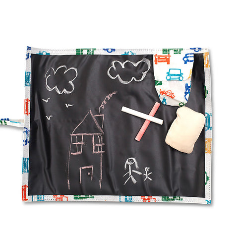 Reversible chalkboard / placemat set