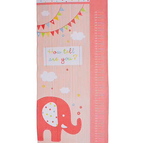 Happy Elephant Girl Growth Chart