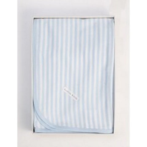 French Stripe Wrap - Blue