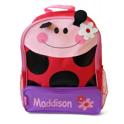 The Lovely Ladybird Personalised Backpack