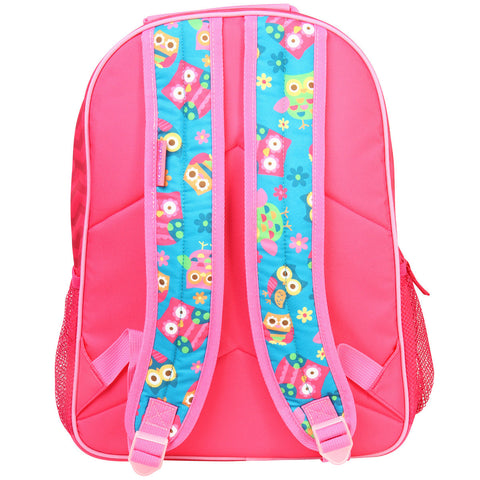 The Personalised Wise Owl Large Backpack