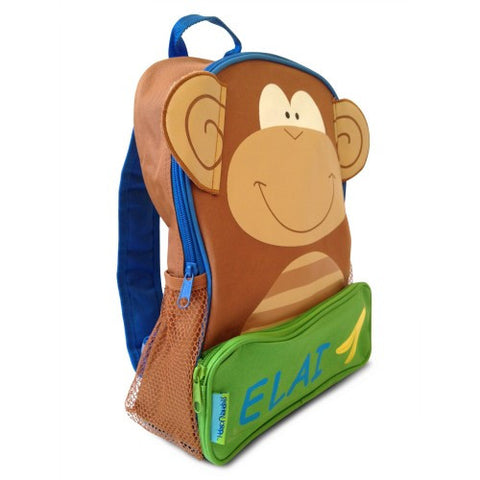 The Funky Monkey Personalised Backpack