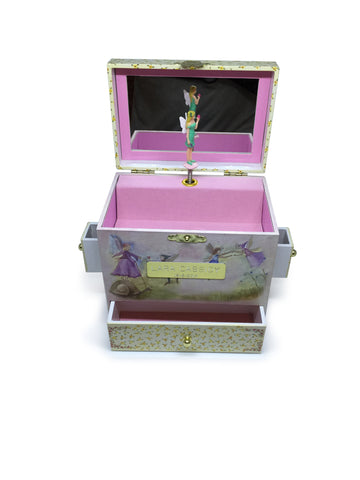 Musical Jewellery Box with Fairy