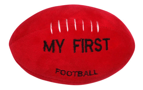 My First Footy - Personalised Football Rattle Toy
