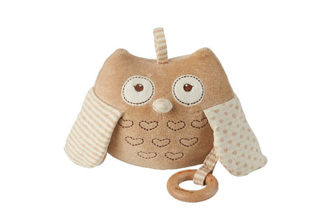 Plush Owl Musical and Teether