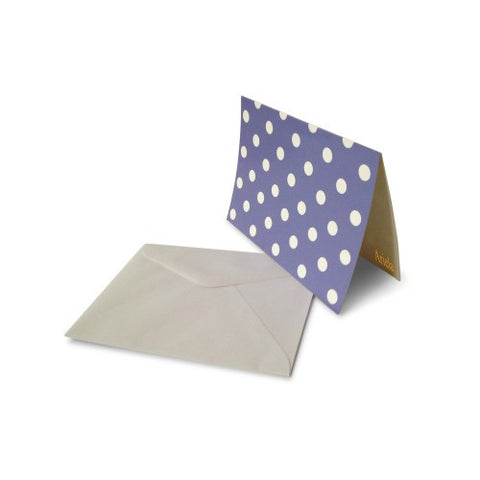 Purple - Polka Dots - Notecard Set