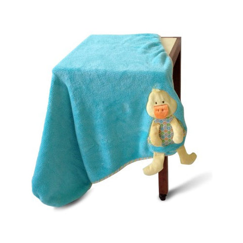 Quacky The Duck Cot Blanket