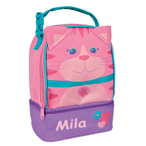 Little Miss Kitty Cat Personalised Lunchbox