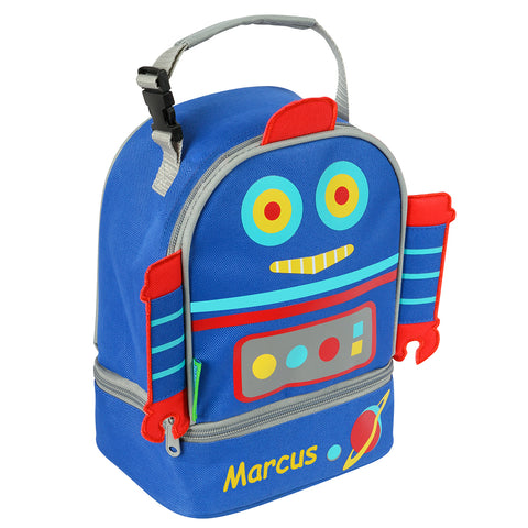 All Systems Go Robot Personalised Lunchbox