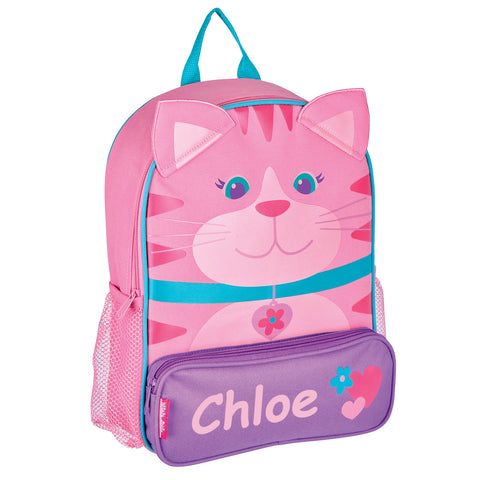 Little Miss Kitty Cat Personalised Backpack