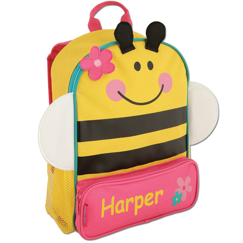 The Buzzing Bee Personalised Backpack