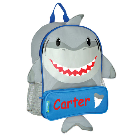 The Hungry Shark Personalised Backpack