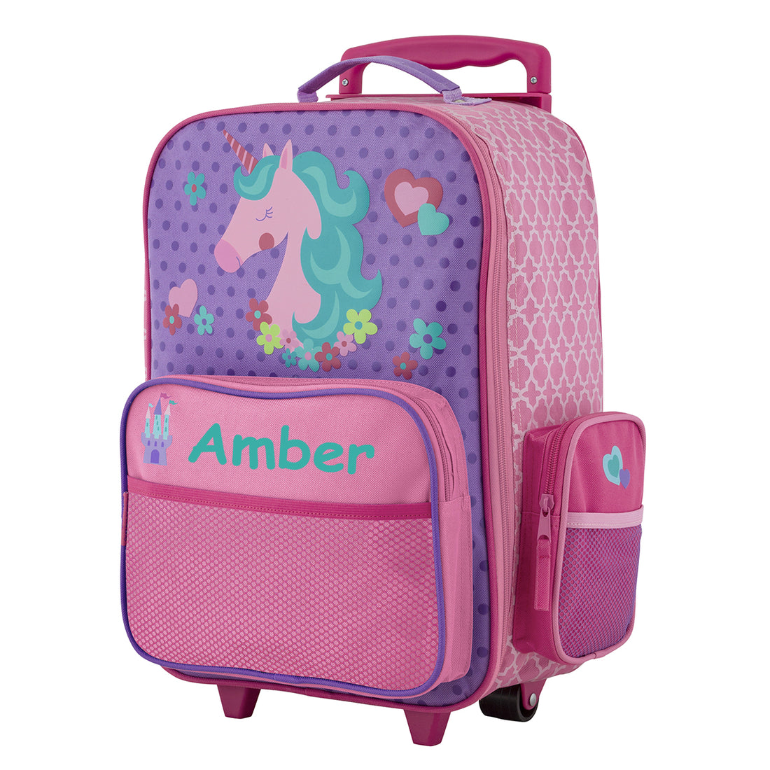The Personalised Magical Unicorn Rolling Luggage