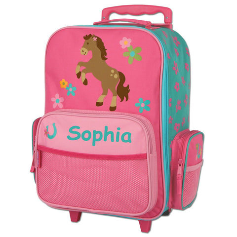 The NEW Pretty Pony Rolling Luggage