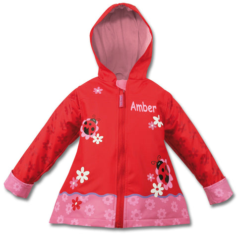 Lovely Ladybird Personalised Raincoat