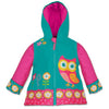 Wonderfully Wise Owl Personalised Raincoat