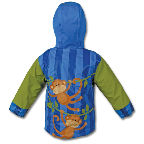 Funky Monkey Personalised Raincoat