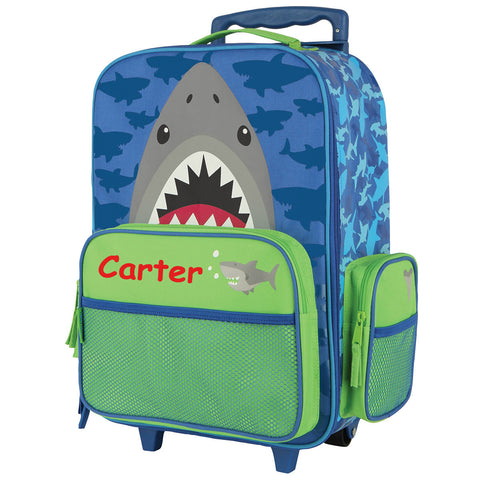 The Hungry Shark Personalised Rolling Luggage