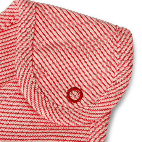 Newport 2 Piece Bib Set - Red - Pack Of 2