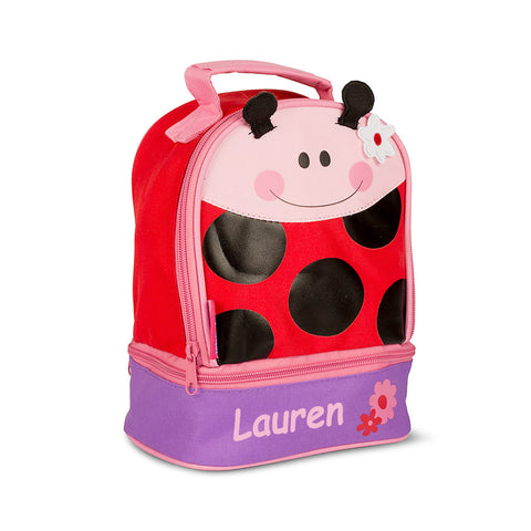 Ladybird Personalised Lunchbox