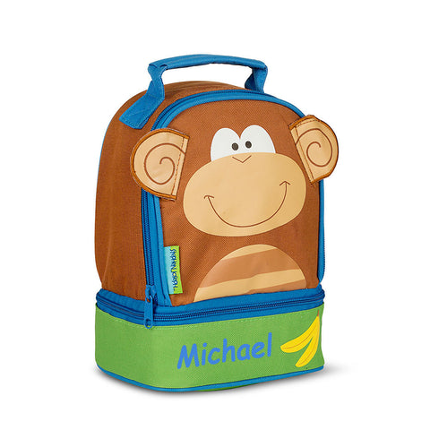 Funky Monkey Personalised Lunchbox