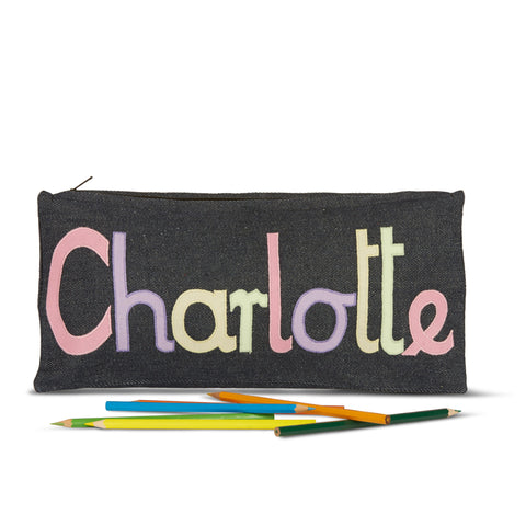 Soft Girls Colours Pencil Case