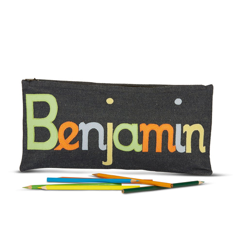 Soft Colours Boy Pencil Case