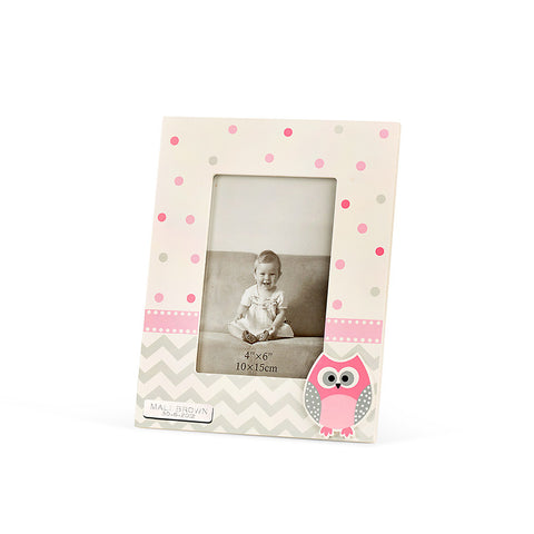 Baby Owl Girl Photo Frame