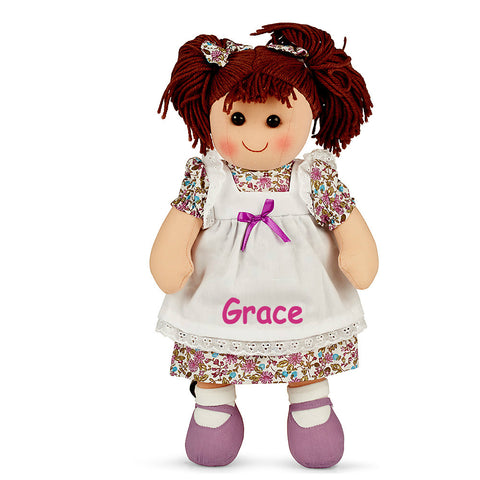 Personalised Pretty in Purple Doll
