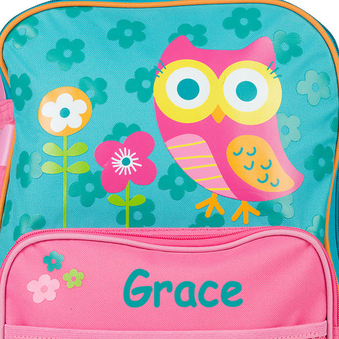 The Wonderfully Wise Owl Personalised Rolling Luggage