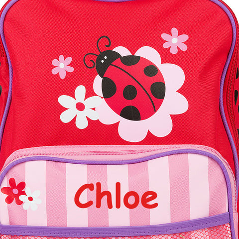 The Lovely Ladybird Personalised Rolling Luggage
