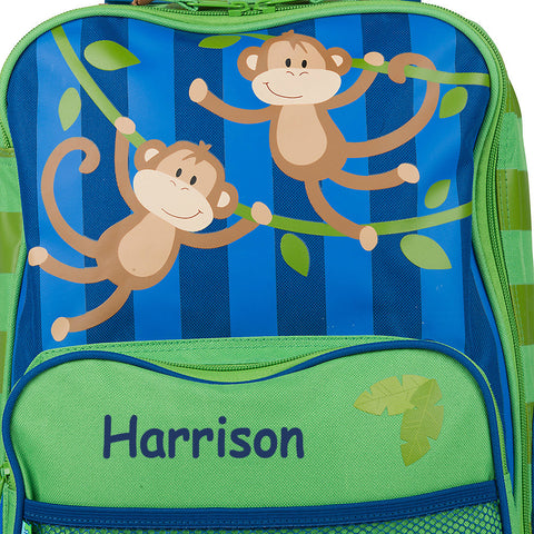 The Funky Monkey Personalised Rolling Luggage