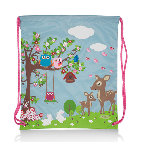 Friendly Animals Personalised Swim Bag/Library Bag