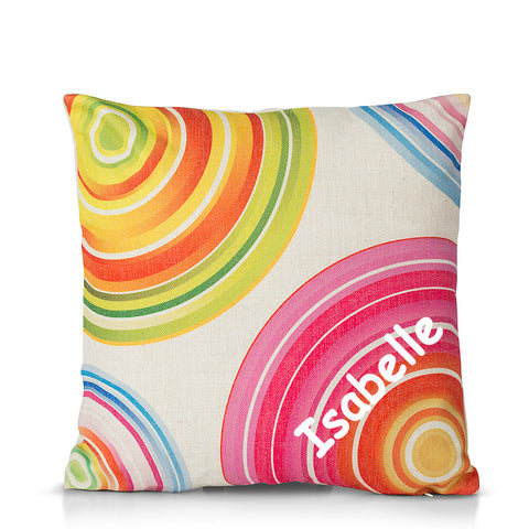 The Sweet Little Hipsters Girl Cushion