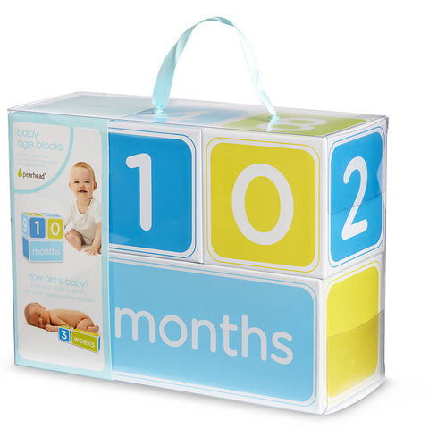 Boy Baby Age Blocks