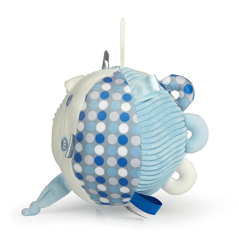 Boys Blue Ball Rattle